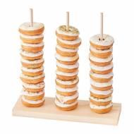 Espositore per donuts - Legno