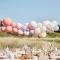 Kit Arco da 60 palloncini - Nude/Blu/Bianco images:#1