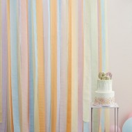Kit di decorazione - tenda pastello