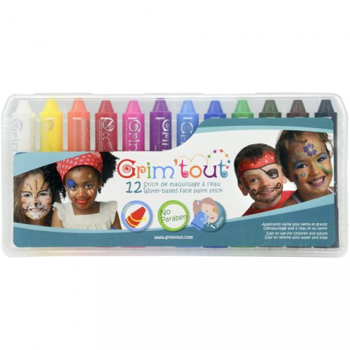 12 Stick make-up a base d acqua