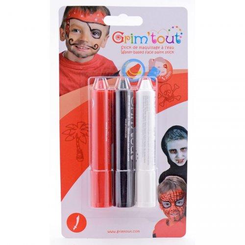 3 Stick make-up Pirata