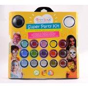 Super Party trucco 17 colori