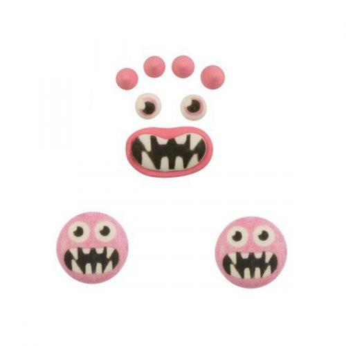 Set mostro rosa - Pasta di zucchero