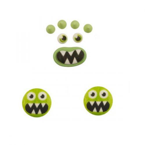 Set mostro verde - Pasta di zucchero