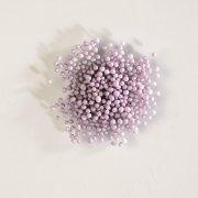 Micro biglie in pasta di zucchero (50 g) - Lilla