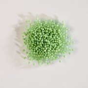 Micro biglie in pasta di zucchero (50 g) - Verde