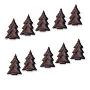 10 Mini abeti - Cioccolato
