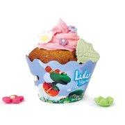 8 Wrapper per cupcake Lulu Brum Brum