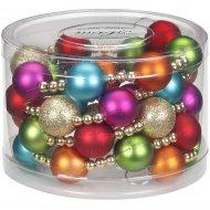 Festone Perle e Palline Multicolore (175 cm) - Plastica