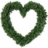 Ghirlanda Abete cuore (55 cm) - Artificiale