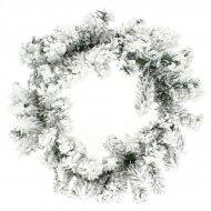 Ghirlanda di Natale Abete Grande Neve (50 cm) - Artificiale