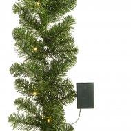 Festone con Abete Imperiale Luci LED (180 cm)
