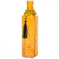 Vaso bottiglia Estate indiana Arancione (26 cm) - Vetro