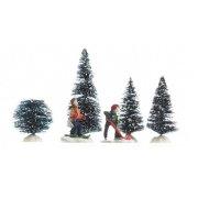 Scena di Natale Sport invernali - 6 pezzi