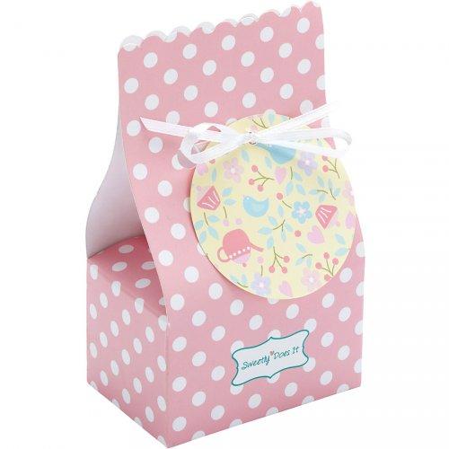 8 scatole regalo Pink Romance