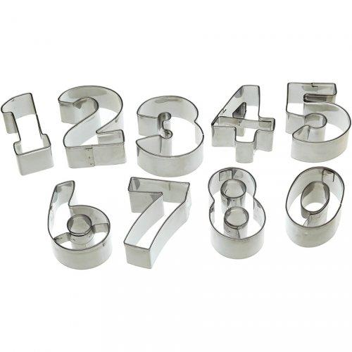 Scatola Tagliabiscotti  numeri da 0 a 9