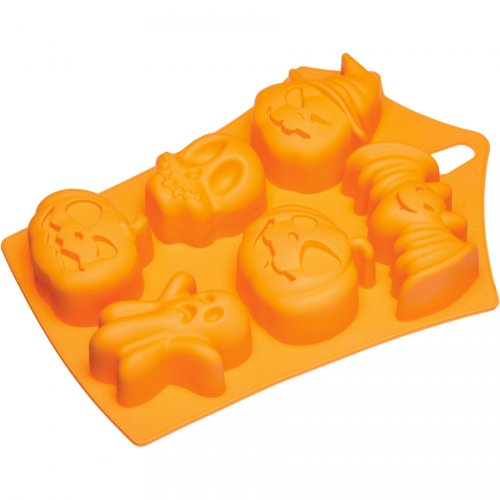 Stampo in silicone 6 muffin Halloween