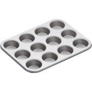 Piastra 12 stampi per cupcake (7 cm) – Metallo