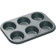 Piastra 6 stampi per cupcake (7 cm) – Metallo