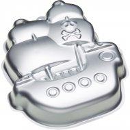 Stampo Nave pirata in rilievo (28 cm) - Metallo