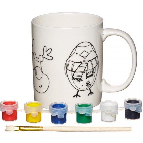 Tazza di Natale - Kit creativo per decorare