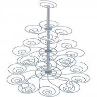 Espositore 23 Cupcake da forno (30 cm) - Metallo