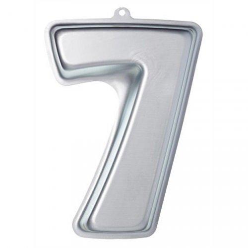 Stampo Numero 7 - Acciaio inox