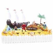 Kit per decorazione torte - Pirati