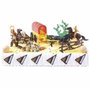 Kit per decorazione torte - Selvaggio west