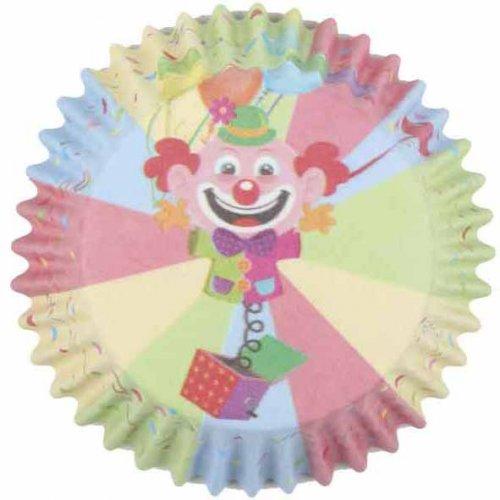 25 Pirottini per cupcake Clown