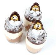 8 Uova piatte di cioccolato