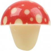 6 Funghi 3D di cioccolato