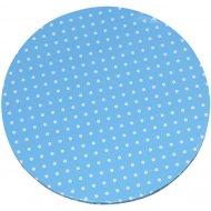 Vassoio per torta Blu a pois bianchi (35 cm)
