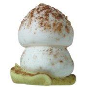 10 Funghi Piccoli su Foglia (1,9 cm) - Zucchero