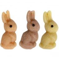 3 Conigli 2D in marzapane (3 cm)