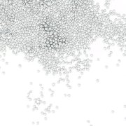 Micro biglie argento (50 g)