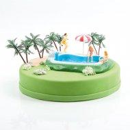 Kit decorazione piscina e palme