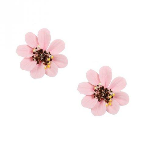 2 Margherite rosa (4 cm) - Non commestibili