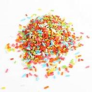 Codette arcobaleno (50 g) - Pasta di zucchero