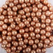 Sacchetto 50g perline bronzo