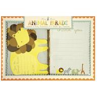 Kit Inviti e ringraziamenti Animal Parade