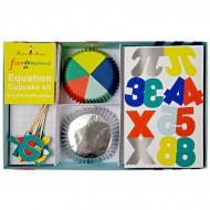 Kit 24 Pirottini e decorazioni per cupcake Funny Science