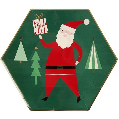8 Piatti Natale fantasia