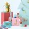 4 Etichette regalo fiocchi di Natale images:#1