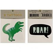 2 tatuaggi di dinosauri