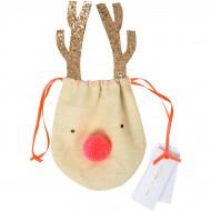 Sacchetto regalo piccolo Renna (12 cm)