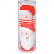 8 Bicchieri Babbo Natale