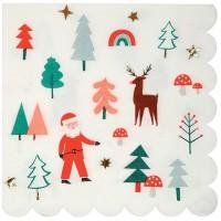 Contiene : 1 x 16 Tovaglioli Bellissimo Natale