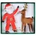 2 Tagliabiscotti  Babbo Natale e Renna (13 e 14 cm). n°1