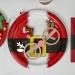 12 Occhiali da Renna di Natale - Cartone. n°4